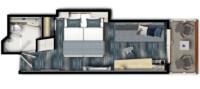 SPA Balkonkabine