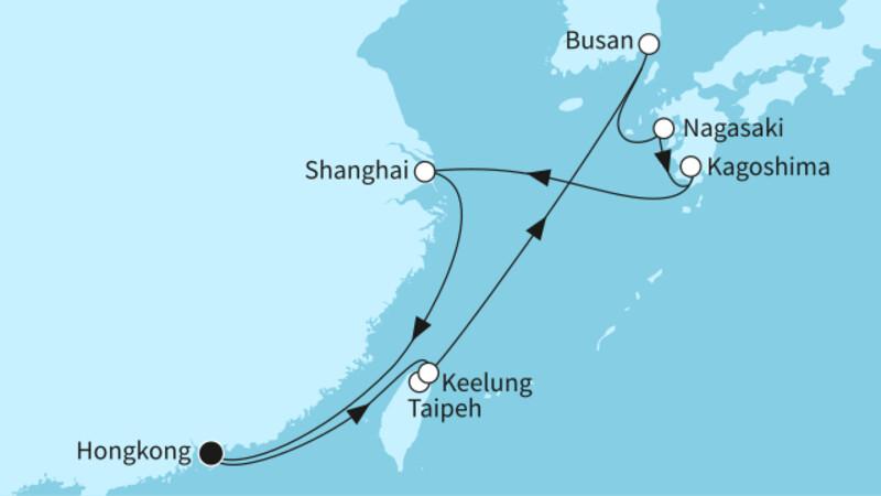 Hongkong mit Japan I
