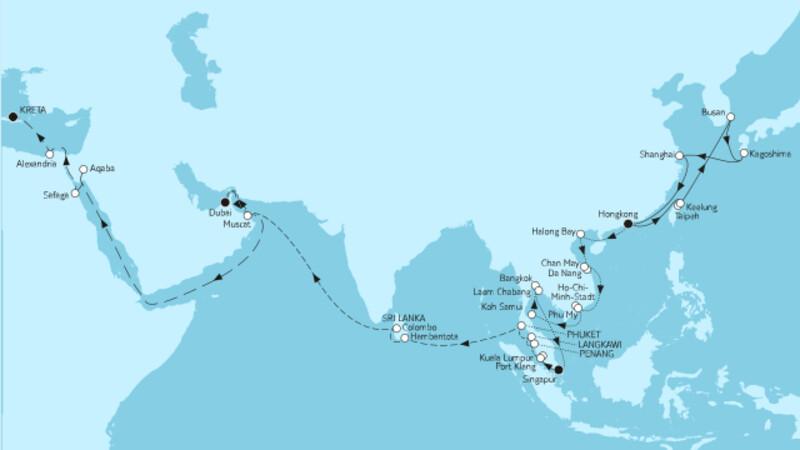 Große Weltentdecker-Route II