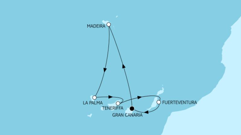 Kanaren mit Madeira III