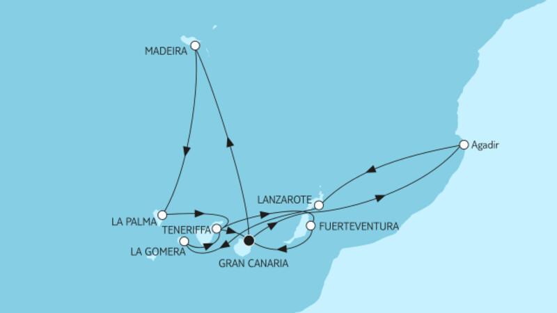 Kanaren mit Lanzarote I & Madeira III