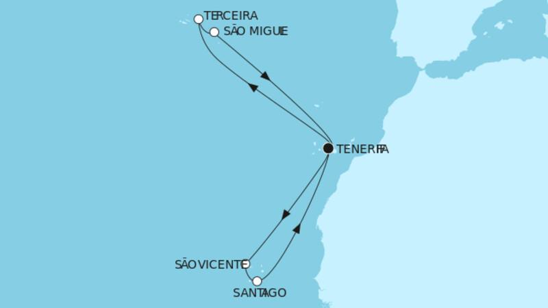 Azoren & Kapverdische Inseln