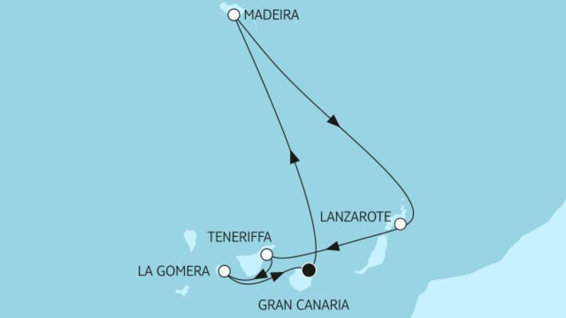 Kanaren mit Lanzarote