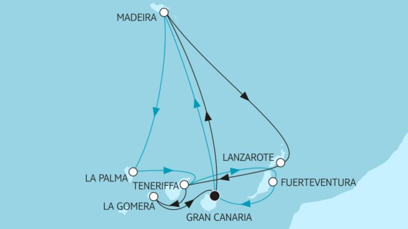 Kanaren mit Lanzarote & Madeira III