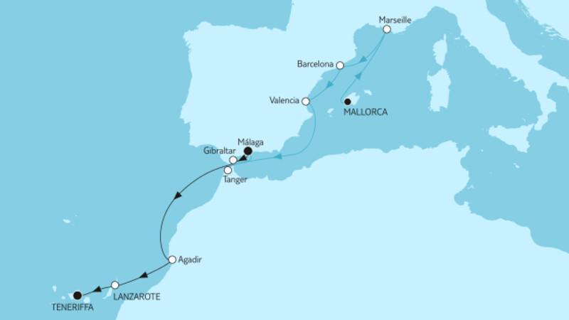Mallorca bis Teneriffa II