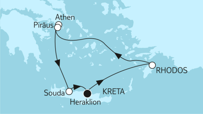 Ganz große Freiheit - Griechische Inseln 1