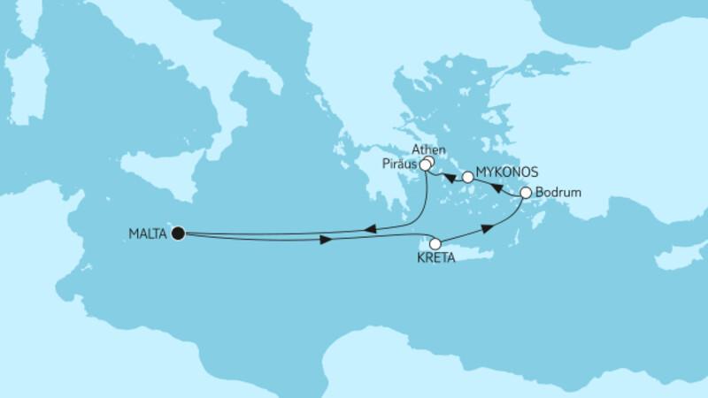 Griechenland ab Malta