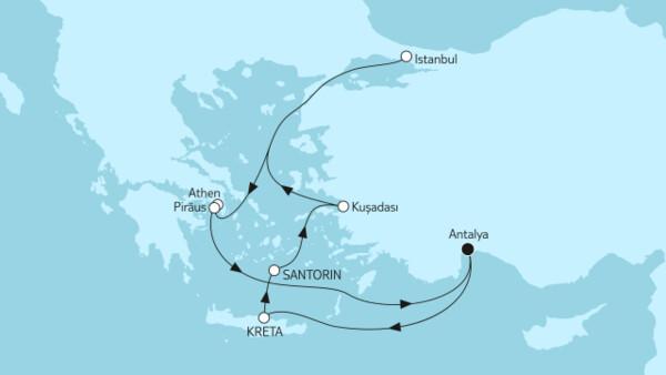 Große Freiheit - Östliches Mittelmeer mit Kreta II