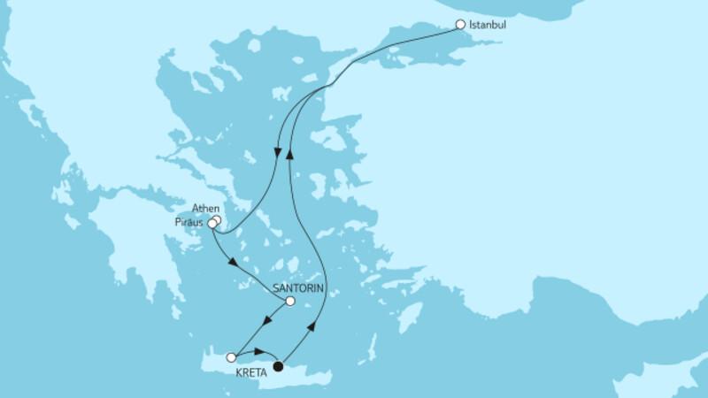 Östliches Mittelmeer ab Kreta I