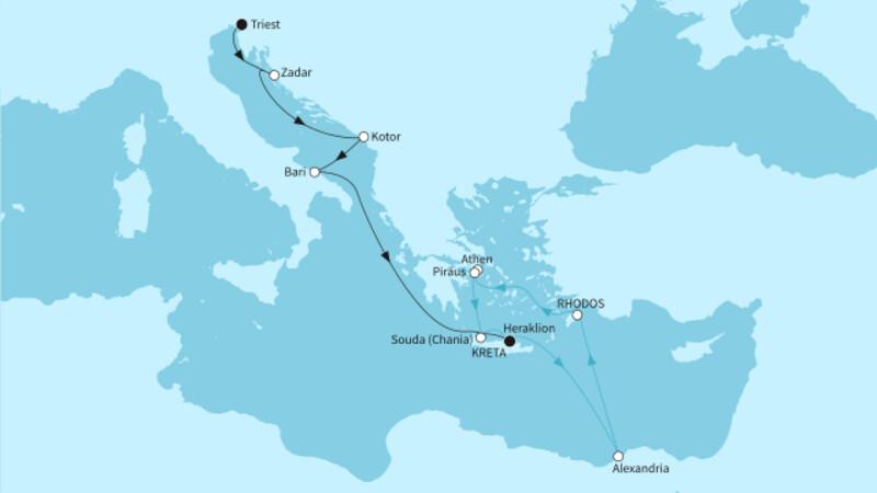 Westliches Mittelmeer mit Griechenland 2