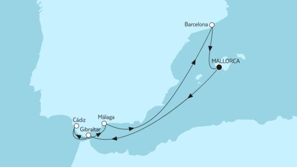 Mittelmeer mit Andalusien III