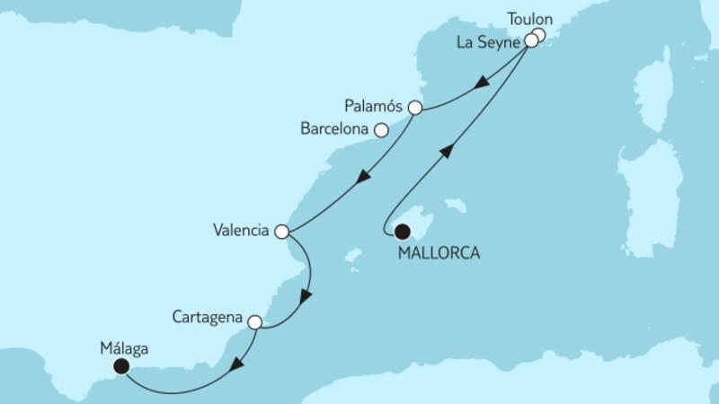 Mallorca bis Málaga I