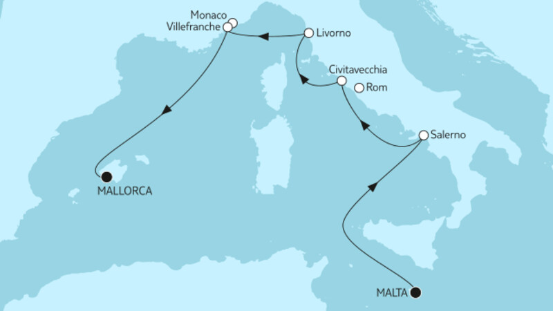 Malta bis Mallorca