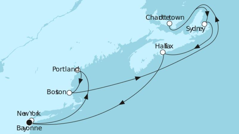 Neuengland mit Kanada II