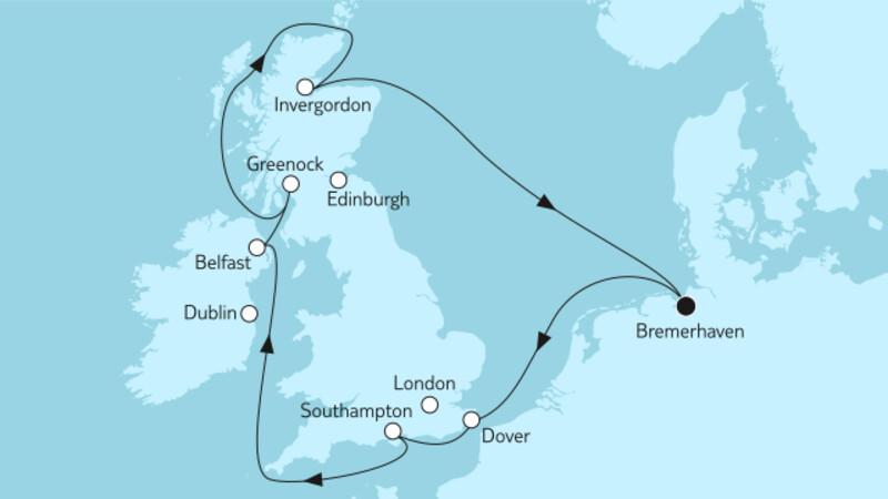 Großbritannien mit Belfast II