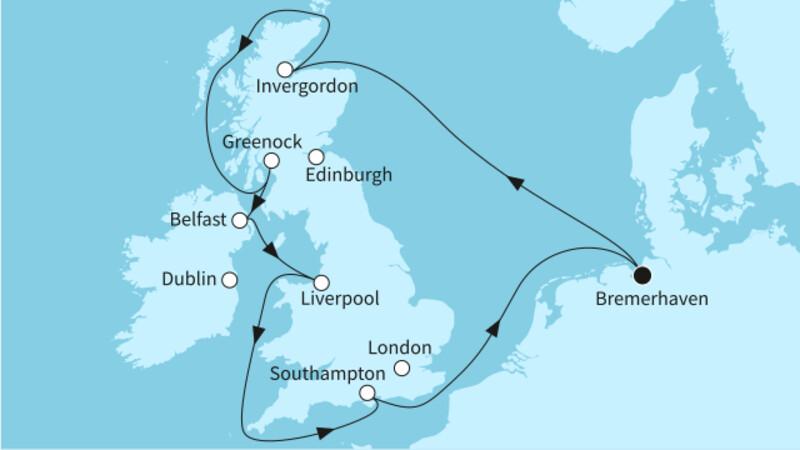 Großbritannien mit Belfast I