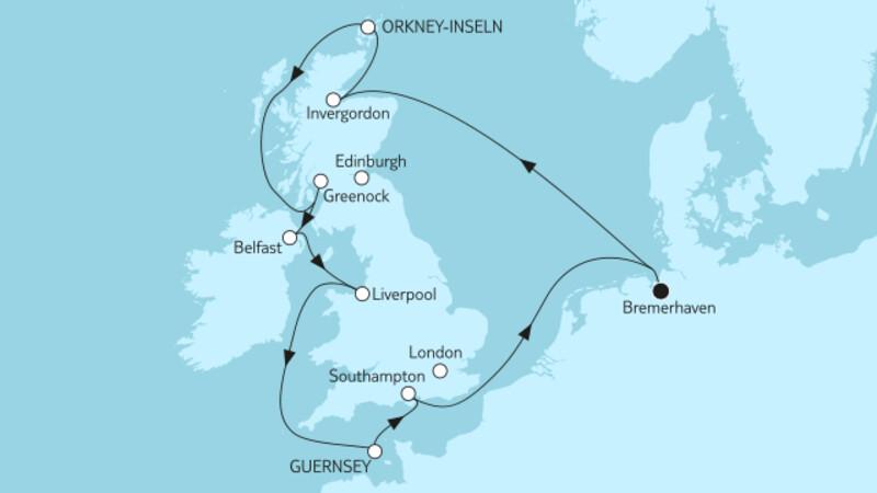 Großbritannien mit Liverpool II