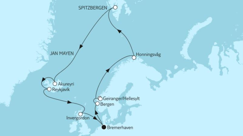 Norwegen mit Spitzbergen & Island II