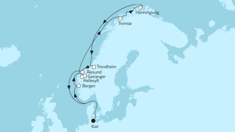 Norwegen mit Nordkap & Geirangerfjord I