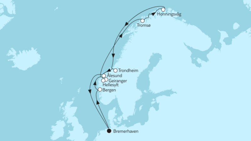 Norwegen mit Nordkap & Geirangerfjord II