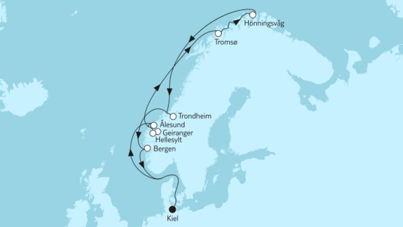 Norwegen mit Nordkap II