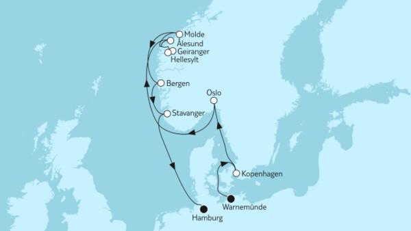 Geiranger & Stavanger