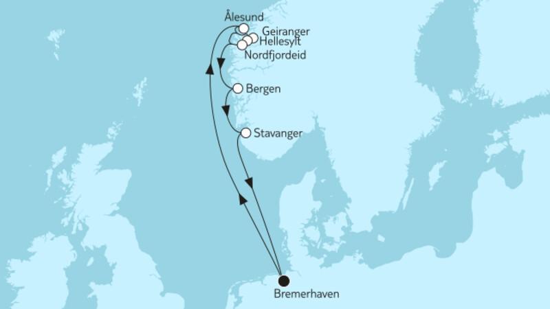 Norwegen mit Geirangerfjord & Nordfjordeid I
