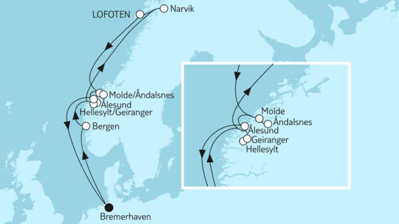 Norwegen Narvik & Lofoten