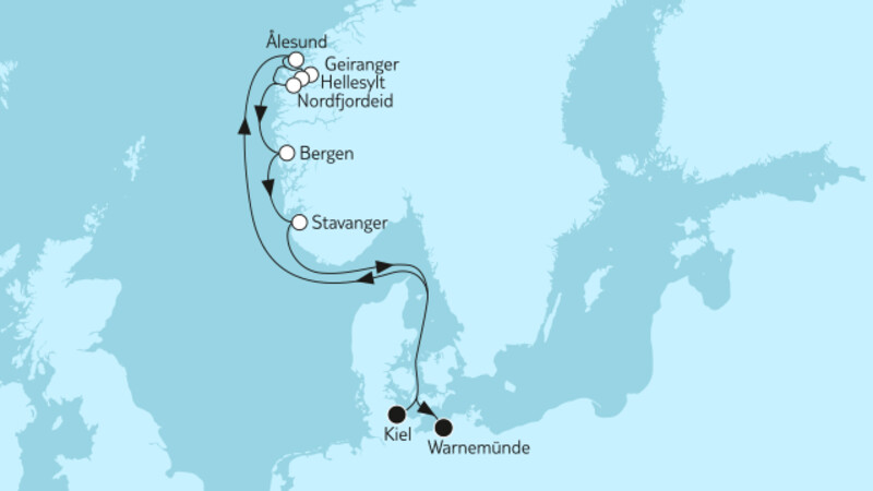 Norwegen mit Geirangerfjord & Nordfjordeid II