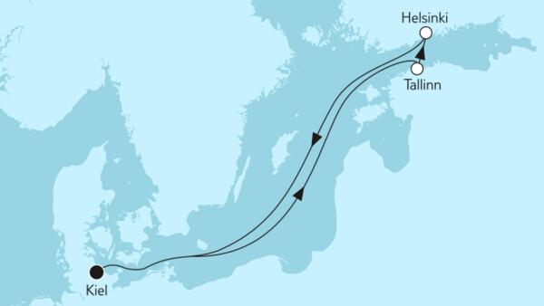 Ganz große Freiheit - Kurzreise mit Helsinki