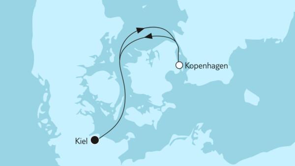 Ganz große Freiheit - Kurzreise mit Kopenhagen