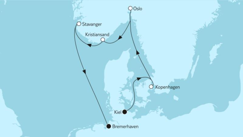 Ganz große Freiheit - Norwegische Küste 3