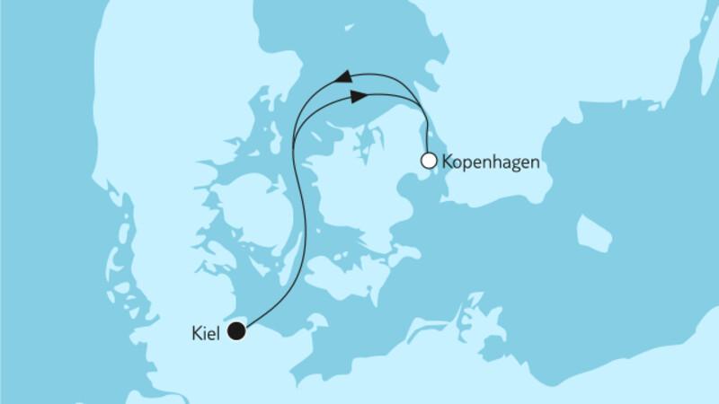 Kurzreise mit Kopenhagen