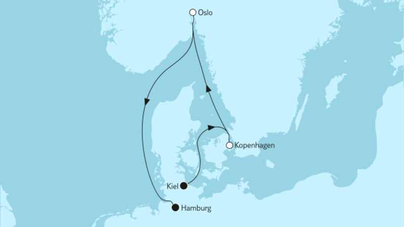Kurzreise mit Oslo & Kopenhagen II