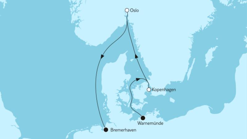 Kurzreise mit Oslo & Kopenhagen III