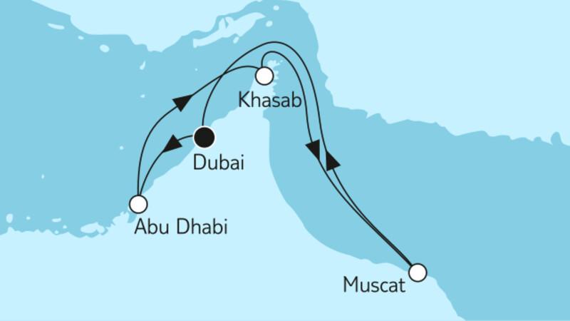 Dubai mit Katar