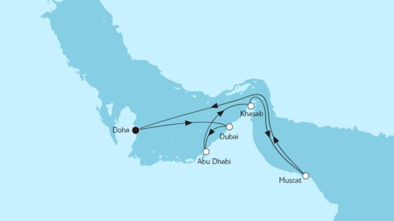 Doha mit Oman
