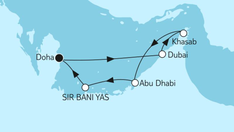 Dubai mit Oman