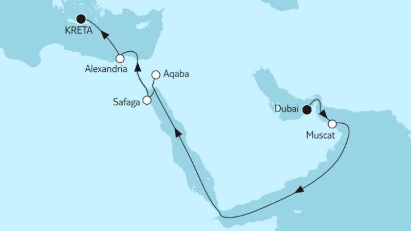 Dubai bis Heraklion