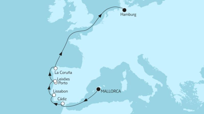 Mallorca bis Hamburg I